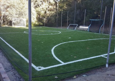 Soccer Field after