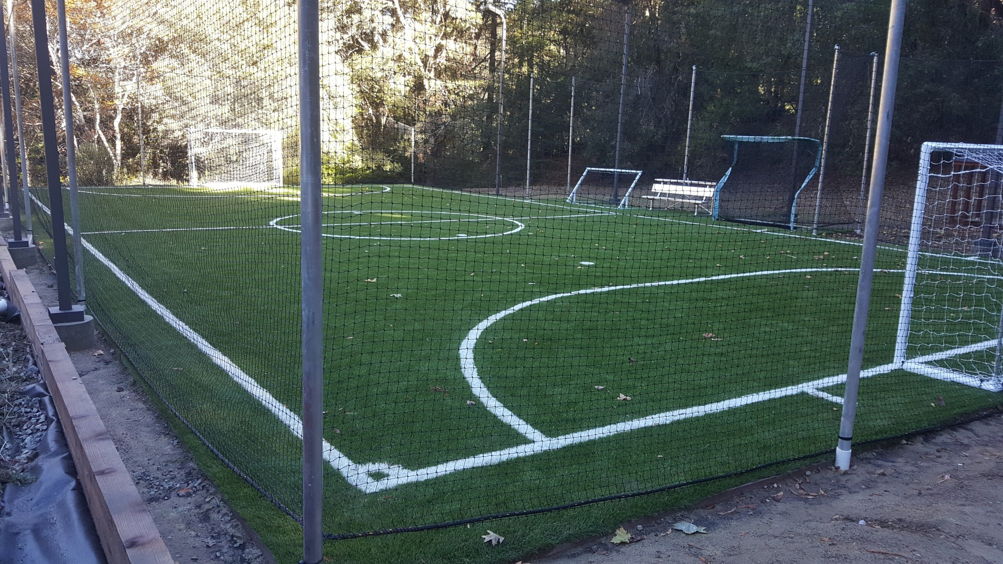Charmant Soccer Field After